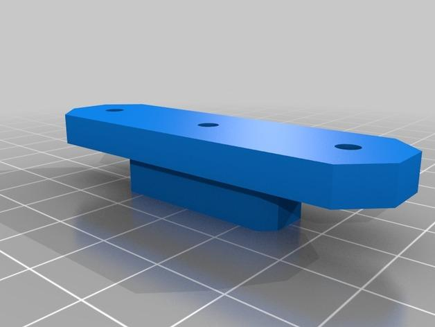 Prusa i3 3D打印机XZ轴 3D模型  图9