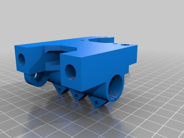 Prusa i3 3D打印机XZ轴 3D模型  图12