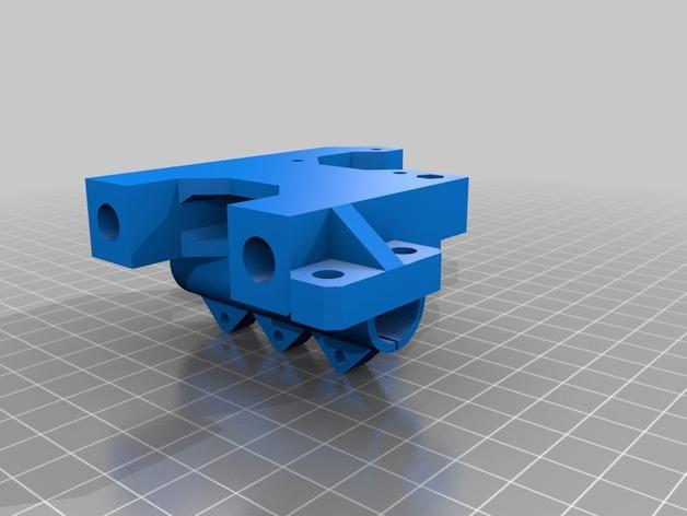 Prusa i3 3D打印机XZ轴 3D模型  图11
