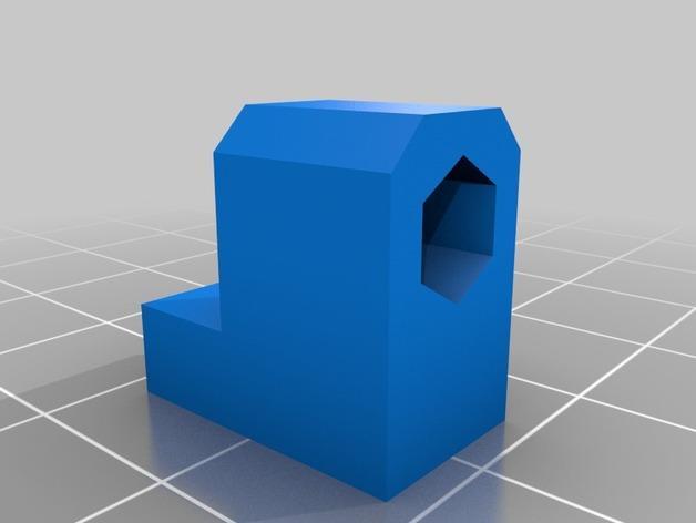 Prusa i3 3D打印机XZ轴 3D模型  图10