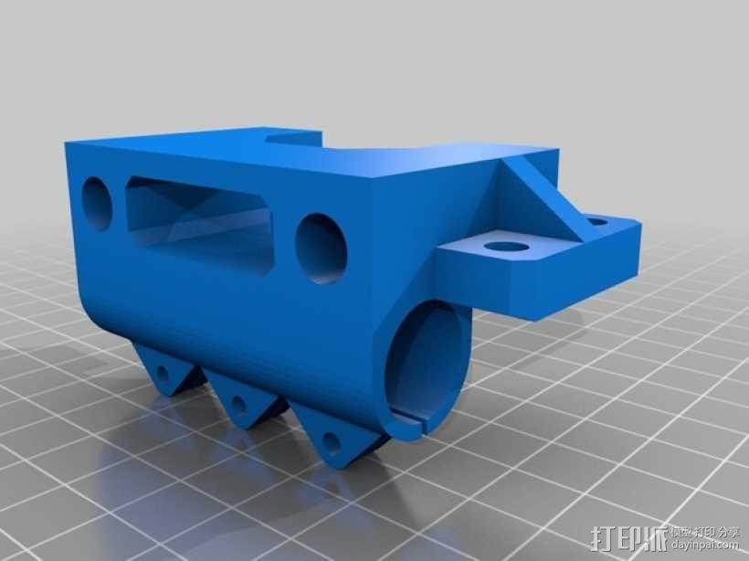 Prusa i3 3D打印机XZ轴 3D模型  图13