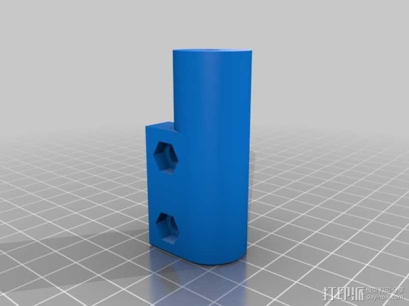 Kossel Mini 3D打印机 3D模型  图9