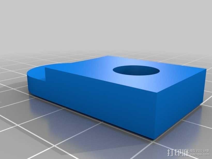 Kossel Mini 3D打印机 3D模型  图15