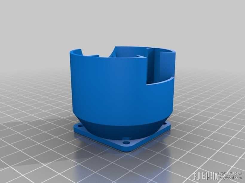 Kossel Mini 3D打印机 3D模型  图18