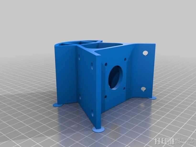 Kossel Mini 3D打印机 3D模型  图19