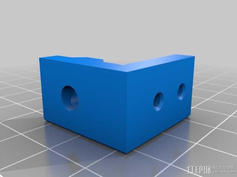 Kossel Mini 3D打印机 3D模型  图21