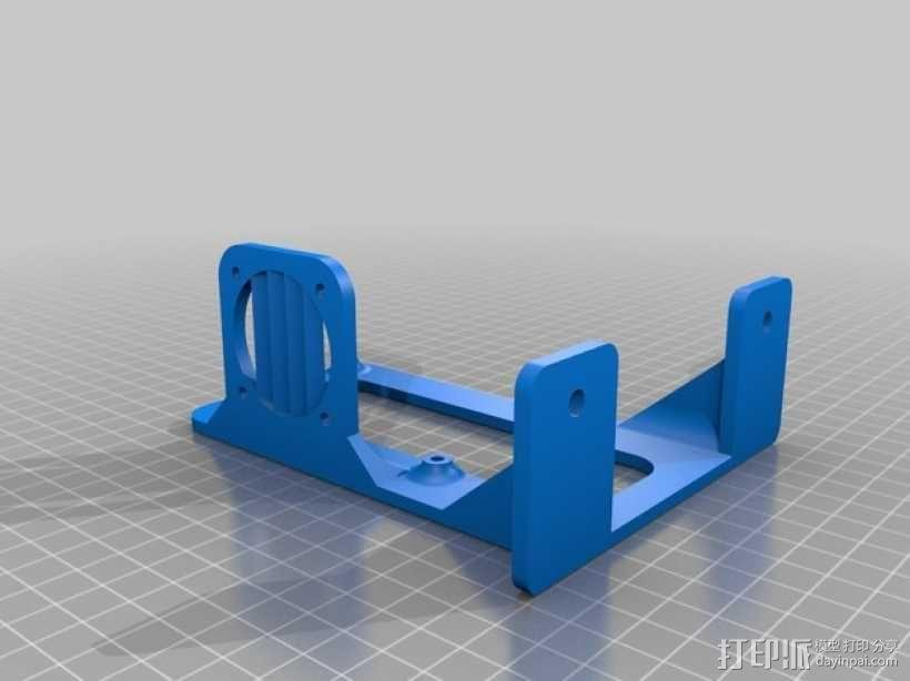 Kossel Mini 3D打印机 3D模型  图23