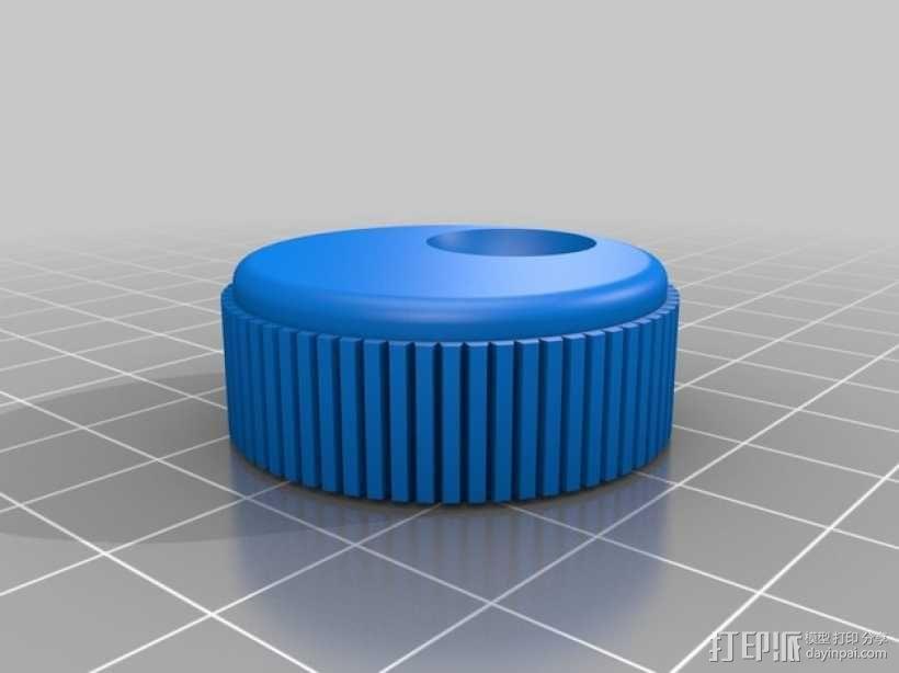 Kossel Mini 3D打印机 3D模型  图24