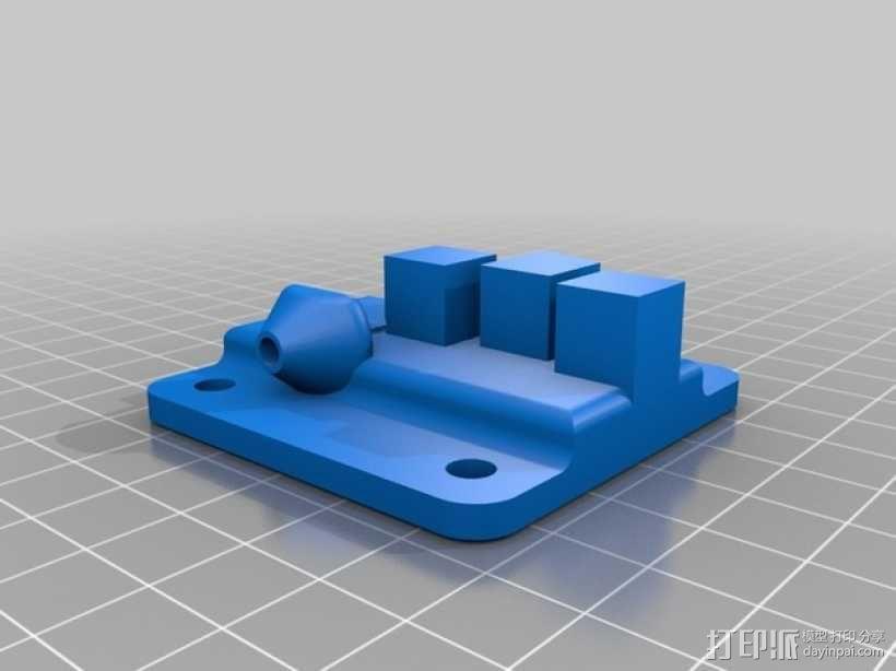 Kossel Mini 3D打印机 3D模型  图28