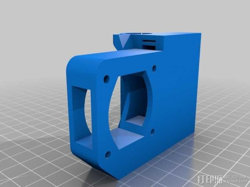 RepRap Prusa i3 3D打印机打印床校准装置 3D模型  图2