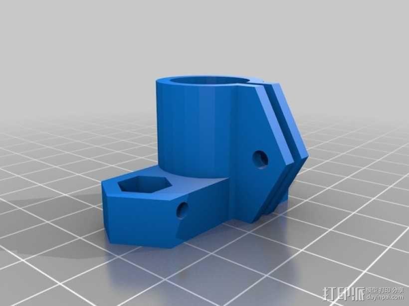 RepRap Prusa i3 3D打印机打印床校准装置 3D模型  图5