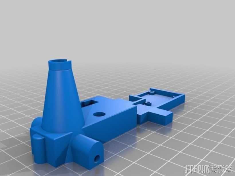 线材尺寸传感器2 3D模型  图3