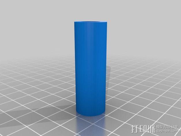 MendelMax 1.5 ZX2   Z轴打印部件 3D模型  图4
