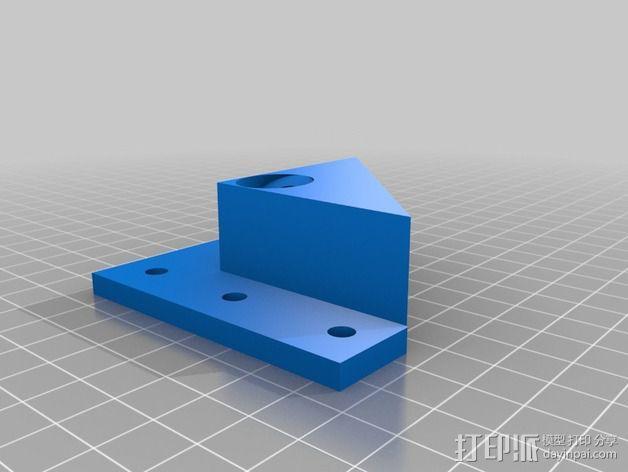 MendelMax 1.5 ZX2   Z轴打印部件 3D模型  图3