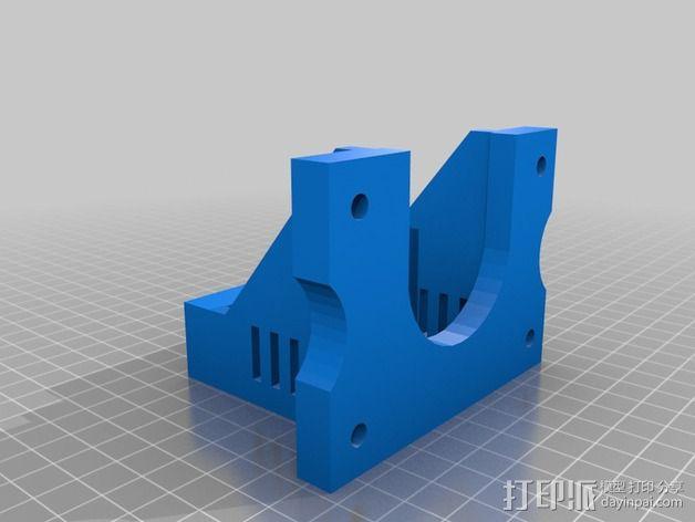 MendelMax 1.5 ZX2   Z轴打印部件 3D模型  图5