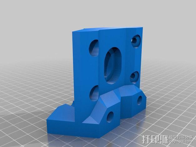 MendelMax 1.5 ZX2   Z轴打印部件 3D模型  图6