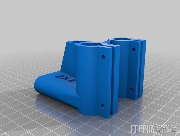 MendelMax 1.5 ZX2   Z轴打印部件 3D模型  图7