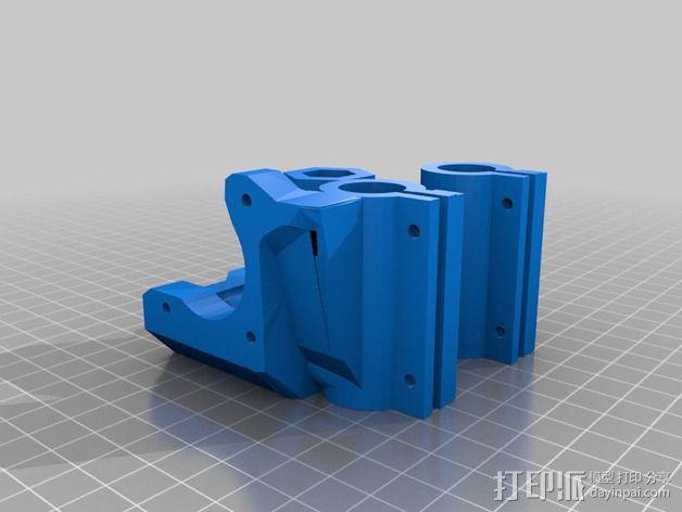MendelMax 1.5 ZX2   Z轴打印部件 3D模型  图8