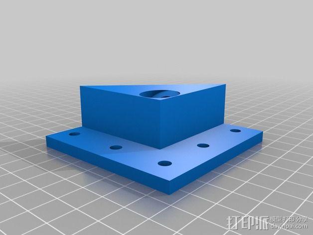 MendelMax 1.5 ZX2   Z轴打印部件 3D模型  图9
