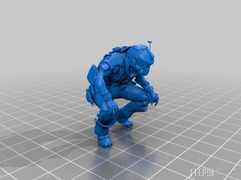 泰坦陨落飞行员 3D模型  图3