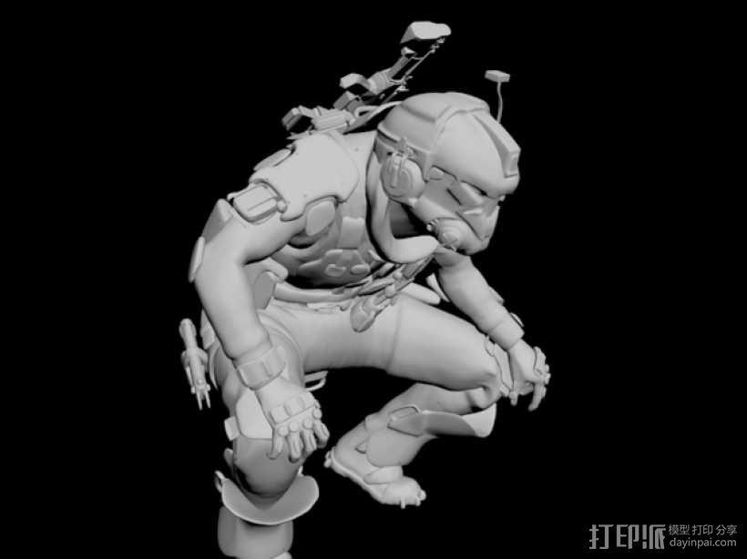 泰坦陨落飞行员 3D模型  图6