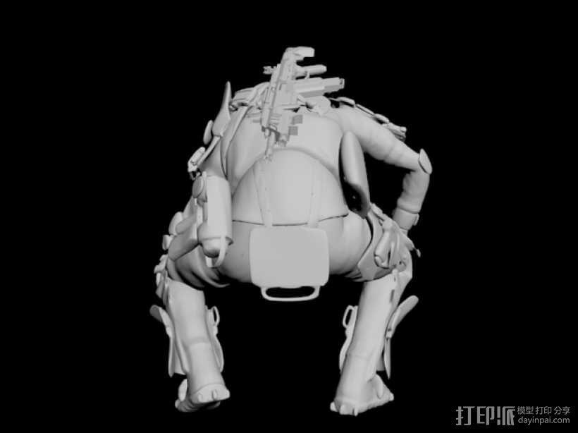 泰坦陨落飞行员 3D模型  图5