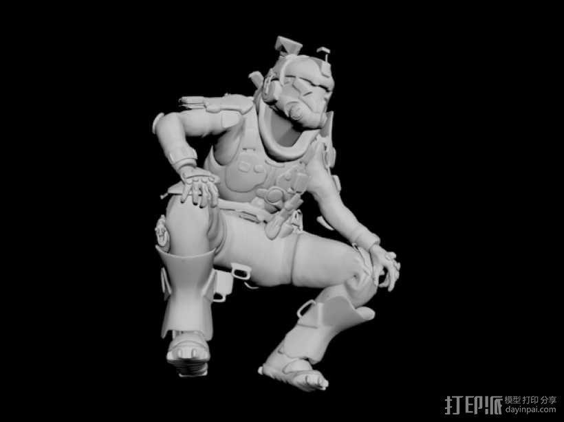 泰坦陨落飞行员 3D模型  图8