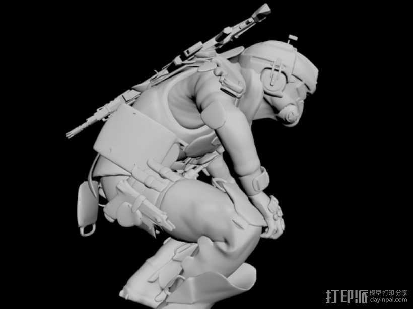 泰坦陨落飞行员 3D模型  图7