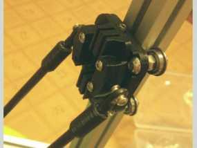 Kossel Mini 3D打印机滑动系统 3D模型