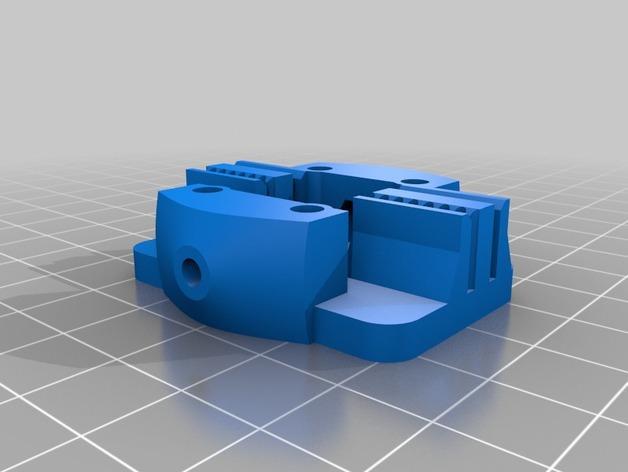 Kossel Mini 3D打印机滑动系统 3D模型  图3