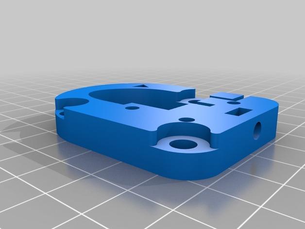 Kossel Mini 3D打印机滑动系统 3D模型  图2