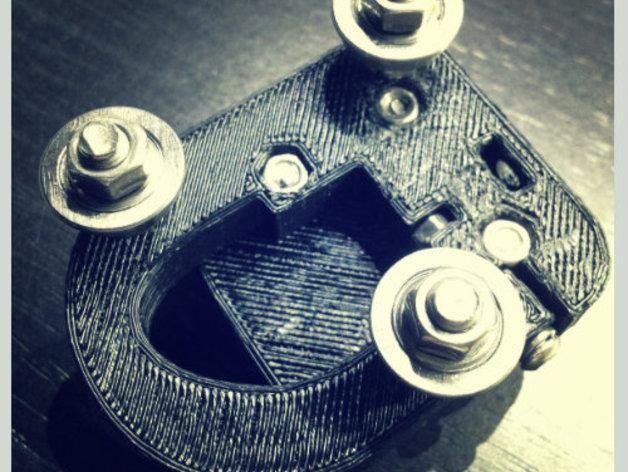 Kossel Mini 3D打印机滑动系统 3D模型  图6