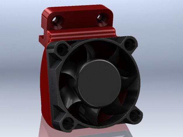 SD3挤压机风扇  3D模型  图2