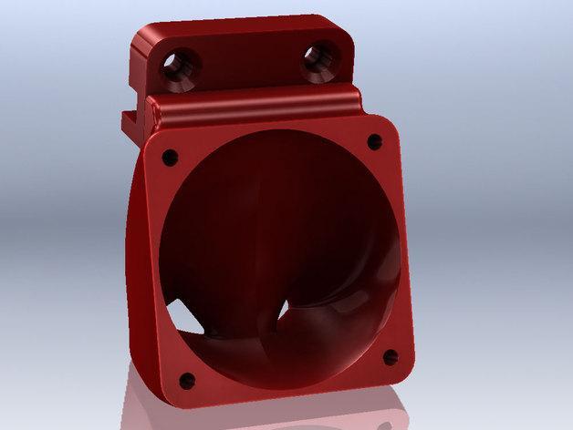 SD3挤压机风扇  3D模型  图3
