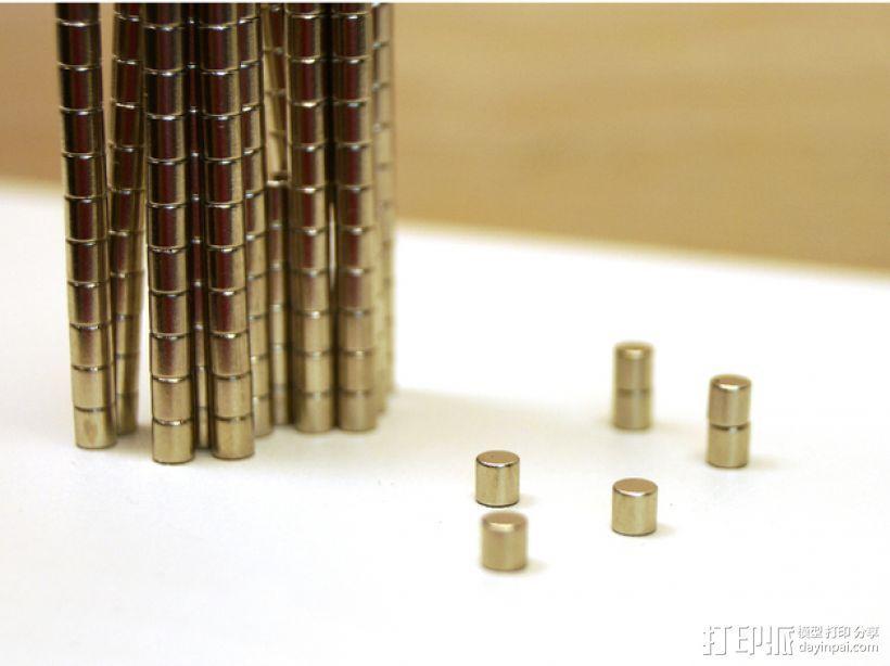 有磁性的螺丝起子 3D模型  图4