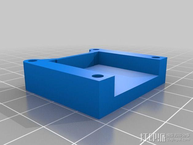 树莓派相机架 3D模型  图2