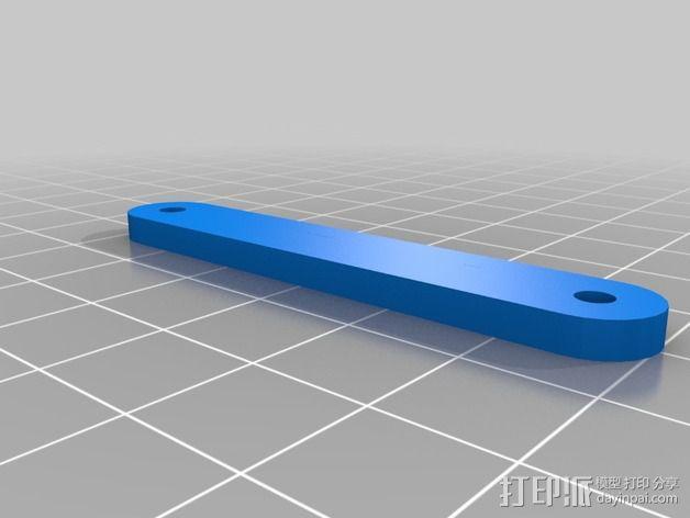 树莓派相机架 3D模型  图4