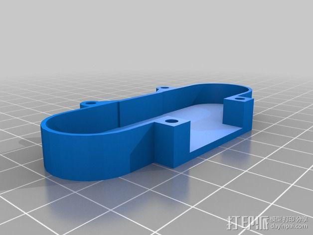 树莓派相机架 3D模型  图7