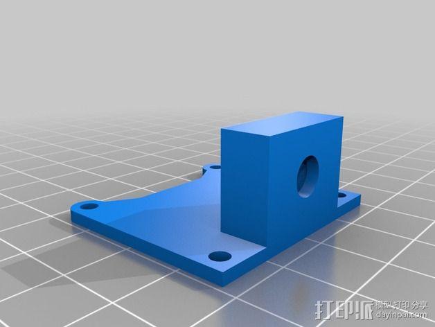 树莓派相机架 3D模型  图5
