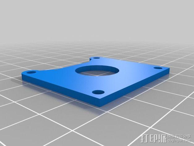 树莓派相机架 3D模型  图6