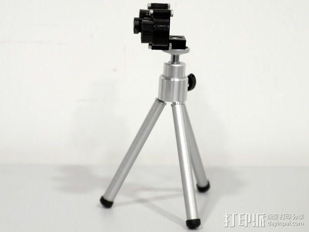 树莓派相机架 3D模型  图12