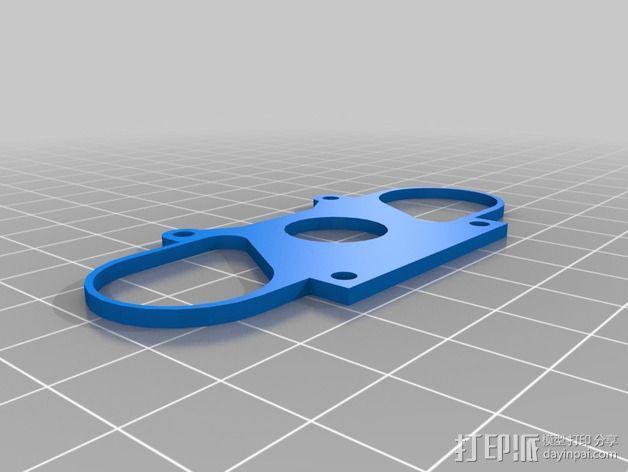 树莓派相机架 3D模型  图10