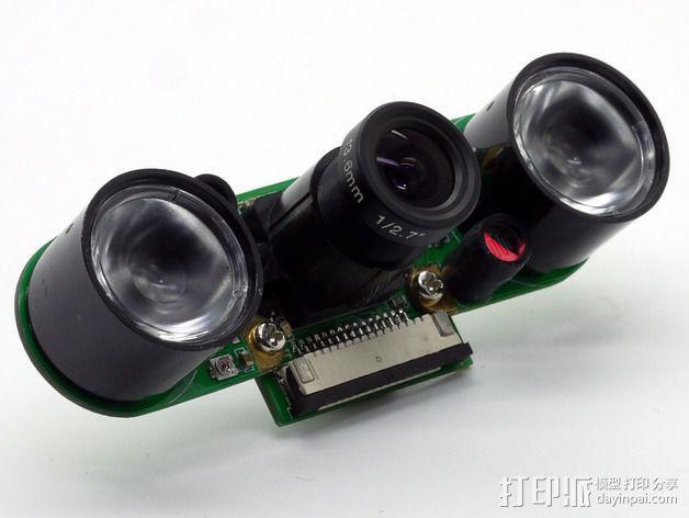 树莓派相机架 3D模型  图14