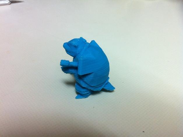 水箭龟 3D模型  图2