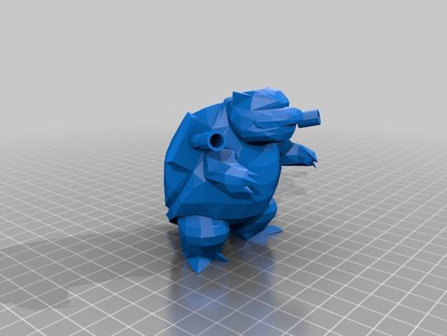水箭龟 3D模型  图5
