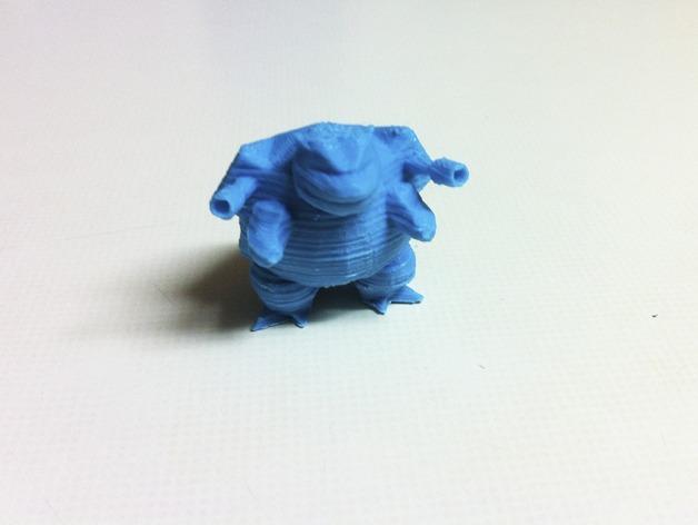 水箭龟 3D模型  图4