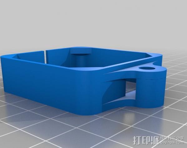 Nema 17步进电机连接保护套 3D模型  图1