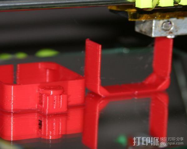 Nema 17步进电机连接保护套 3D模型  图9