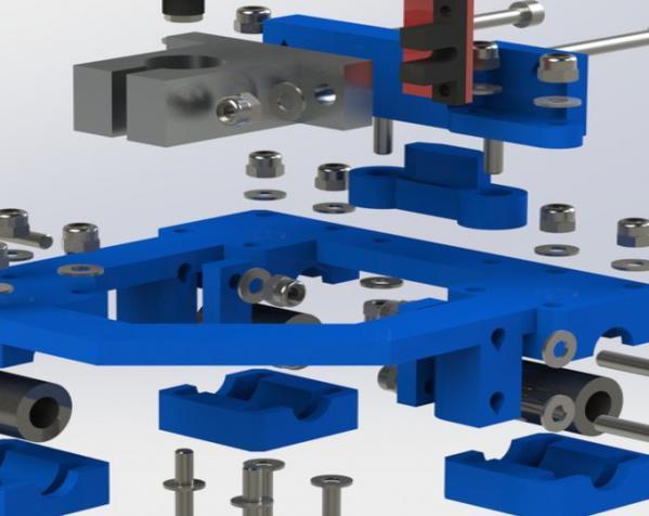 Focus SLS打印机 3D模型  图6