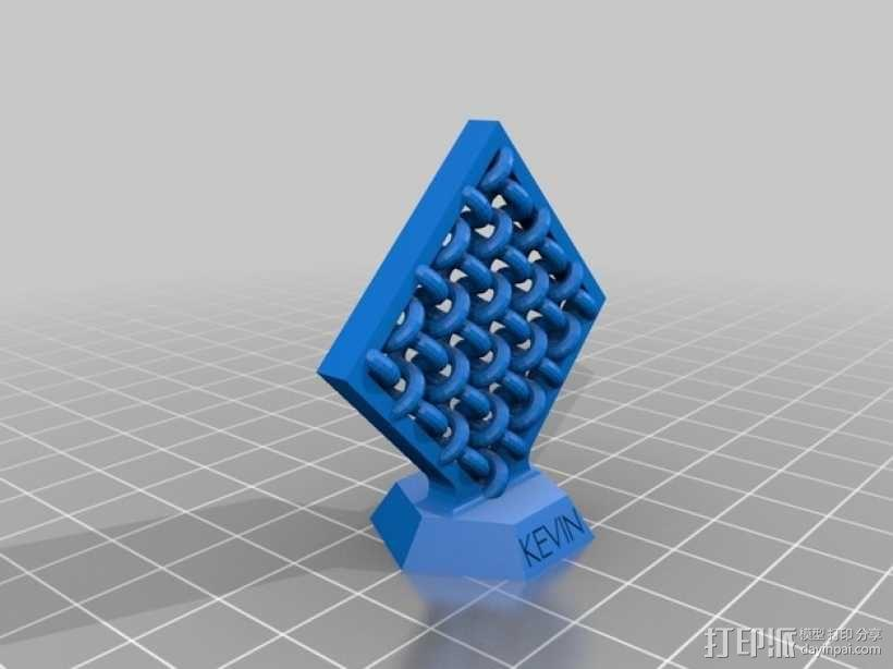 压力测试样品 3D模型  图2